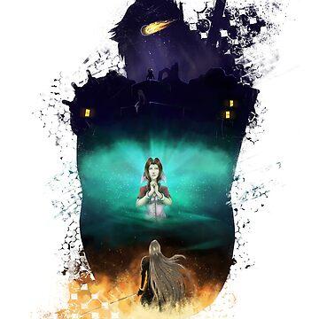 Final Fantasy VII - Memories by qlaxx