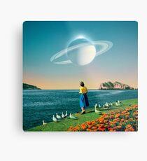 Watching Planets Metal Print