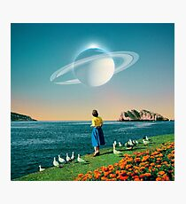 Watching Planets Photographic Print