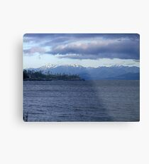 Across the Water Metal Print
