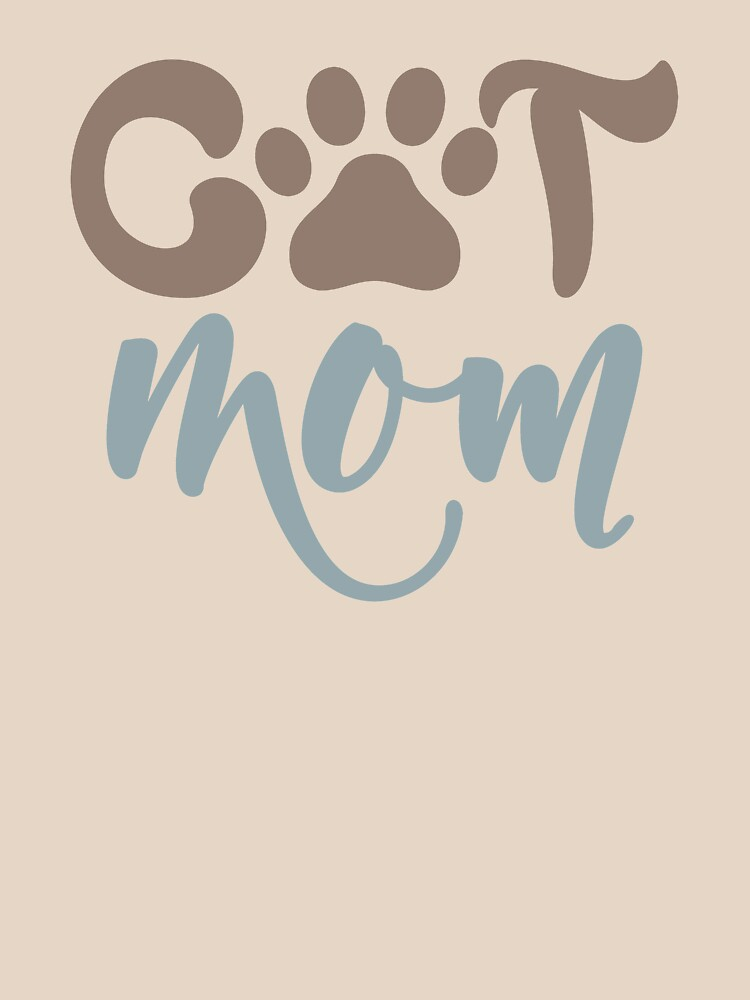 CAT MOM - POPULAR, TRENDY ANIMAL KITTY DESIGN by NotYourDesign