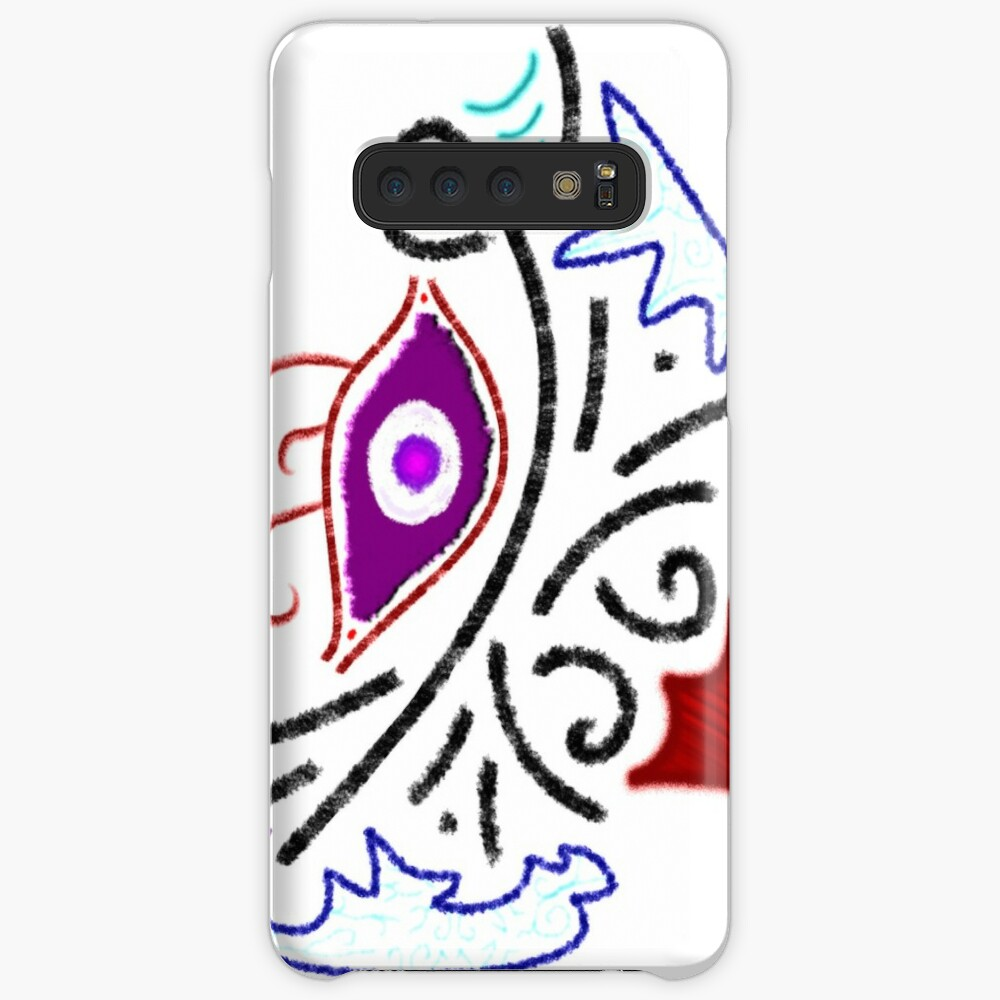Merch #1 -- Rustic Tribal Cyclops Insignia Cases & Skins for Samsung Galaxy