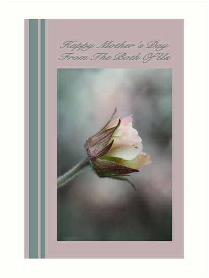 Happy Mother's Day From The Both Of Us. by Joy Watson