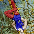 XII The Hanged Man by Yvette Bell