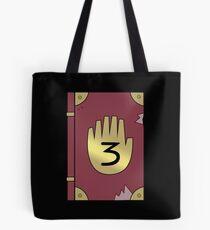 Gravity Falls // Journal 3 Tote Bag