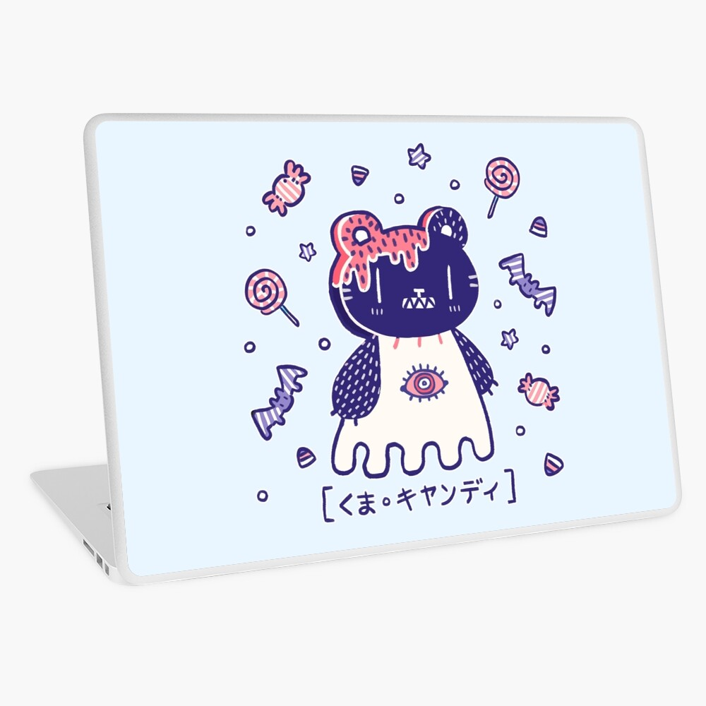 Candy Bear  Laptop Skin