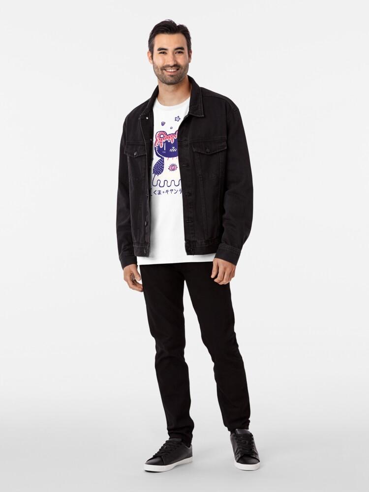 Alternate view of Candy Bear  Premium T-Shirt