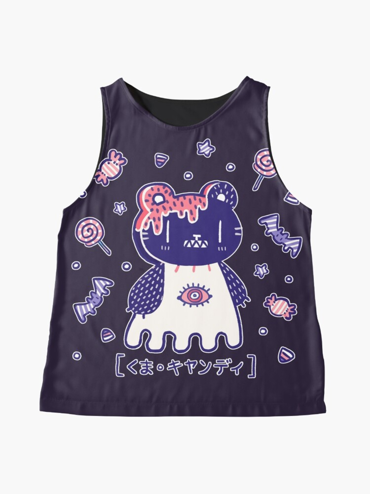 Alternate view of Candy Bear  Sleeveless Top