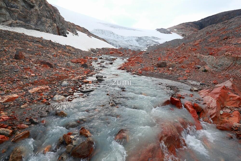 Glacier outflow by zumi