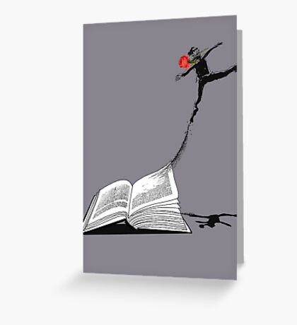Underground Man Escapes Greeting Card