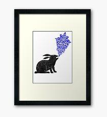 Rabbit Sings the Blues Framed Print