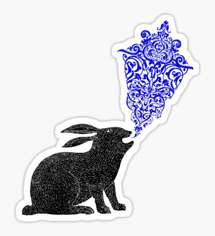 Rabbit Sings the Blues Sticker