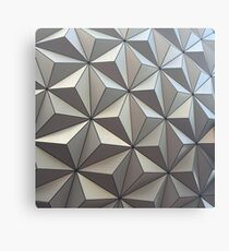 Spaceship Earth, up close Canvas Print