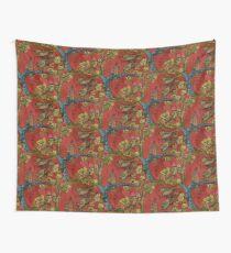 Birds on Branches Wall Tapestry
