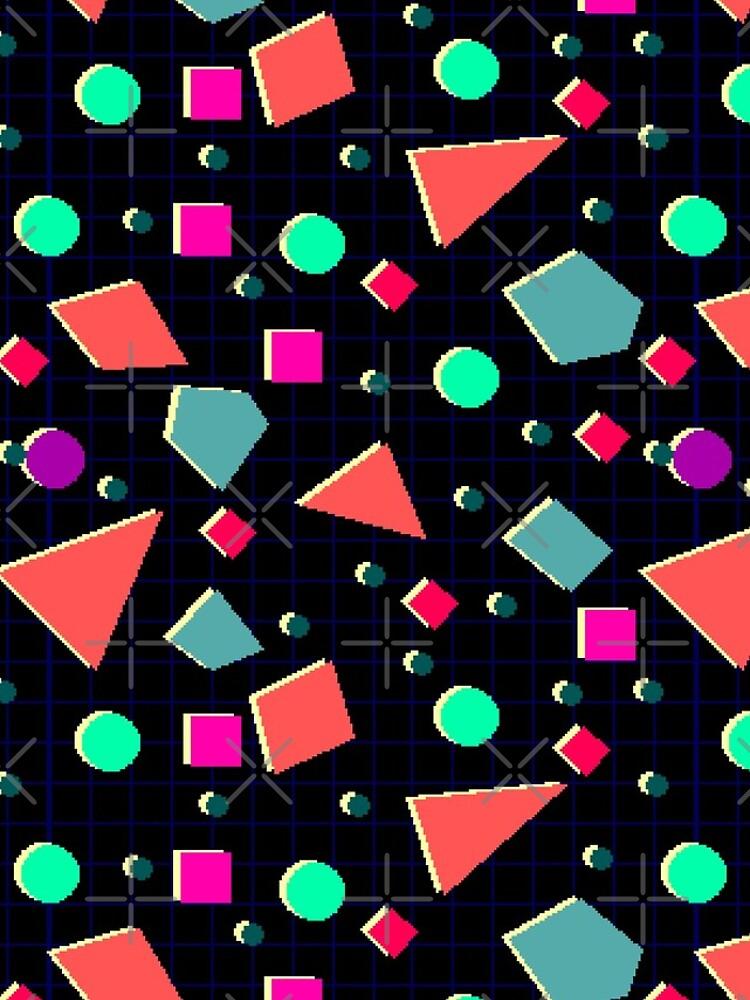Neonretro Pixel Pattern by Emmytwofive