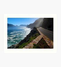 Chapmans Peak Drive Cape Town Art Print
