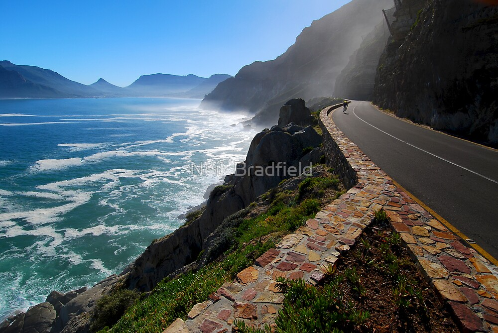 Quot Chapmans Peak Drive Cape Town Quot By Neil Bradfield Redbubble