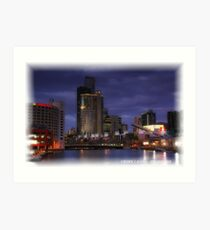 Crown Casino Art Print