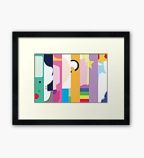 Come On Grab Your Friend Framed Print