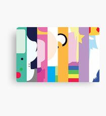 Come On Grab Your Friend Canvas Print