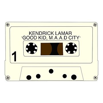 good kid, maad city - cassette by conorr667