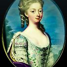 Portrait of a Princess lost to history by kj dePace'