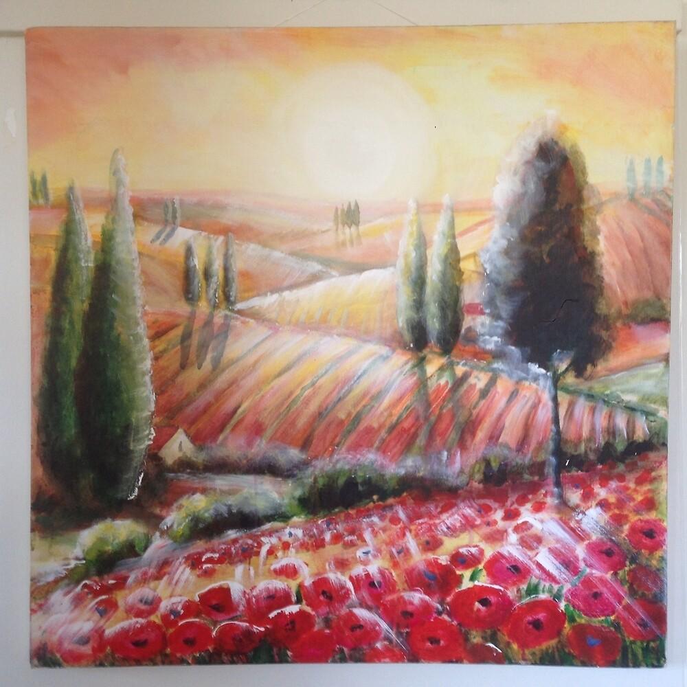 tuscany light by roger  boreham