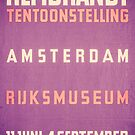 Rembrandt exhibition Amsterdam  by kj dePace'