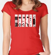 Lets'a Go! Women's Fitted Scoop T-Shirt