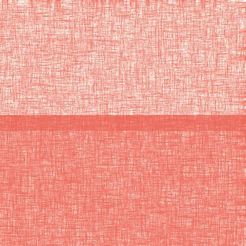 Bright coral shade grunge stripes by Anteia