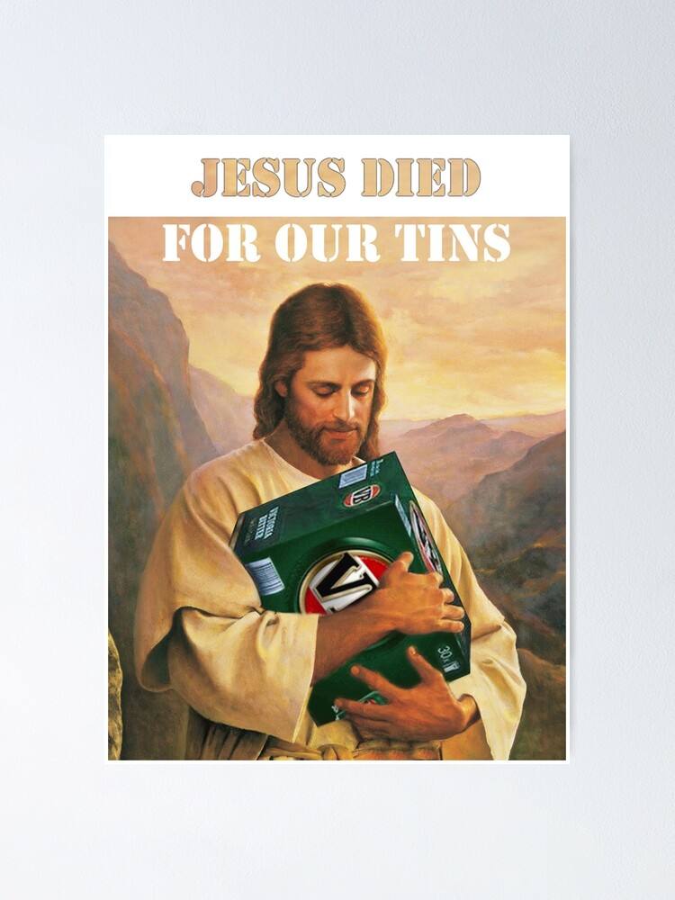 Jesus Died For Our Tins 3 iphone case