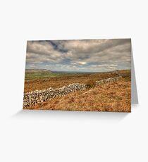 Burren Stone Walls Greeting Card