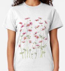 Rosa Kosmosblumen Classic T-Shirt