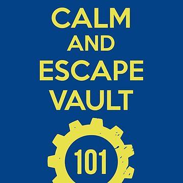 Keep Calm Vault 101 by ringeth
