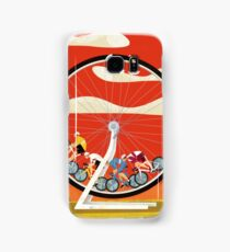 Road Cycle Racing on Hamster Power Samsung Galaxy Case/Skin