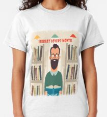 February Appreciation Day - Library Lovers' Month Classic T-Shirt