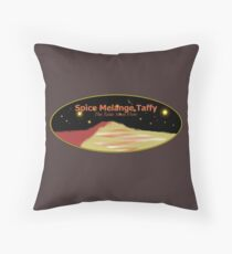 Spice Melange Taffy Throw Pillow