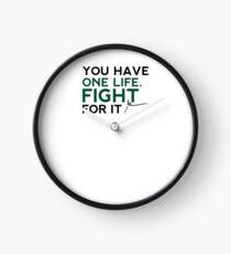 Reloj Gary Vaynerchuk / Gary Vee - Tienes una vida. Lucha por ello - NEGRO