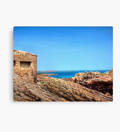 Fort Raz - Alderney Canvas Print