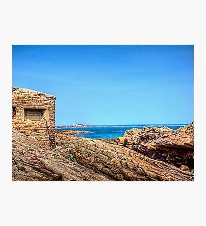 Fort Raz - Alderney Photographic Print