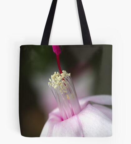 Pink Zygocactus Tote Bag