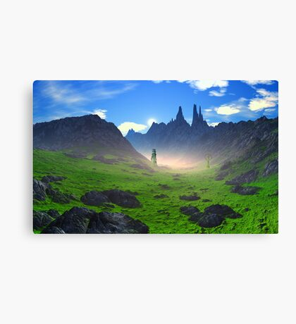 Early Morn - Armac Tor Canvas Print