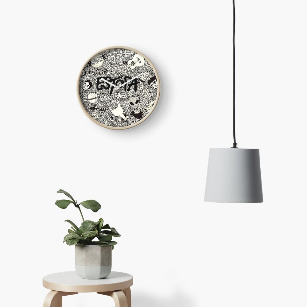 Estopa Clock