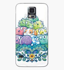 Funda/vinilo para Samsung Galaxy Montón de alcancía en flor