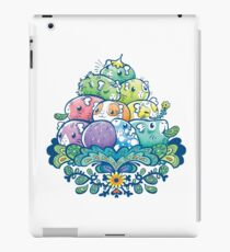 Blooming Piggy Pile  iPad Case/Skin