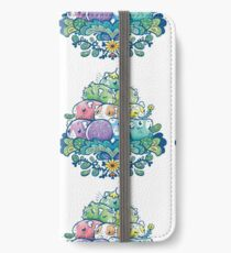 Blooming Piggy Pile  iPhone Wallet/Case/Skin