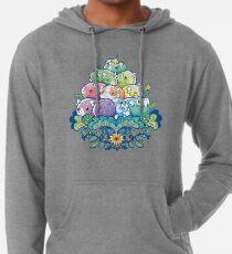 Sudadera con capucha ligera Montón de alcancía en flor