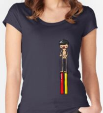 Ned is REALLY Tall Women's Fitted Scoop T-Shirt