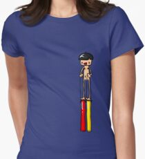 Ned is REALLY Tall Women's Fitted T-Shirt