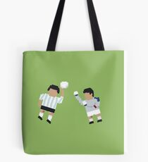 Foot-T poster 'Hand Of God' Tote Bag